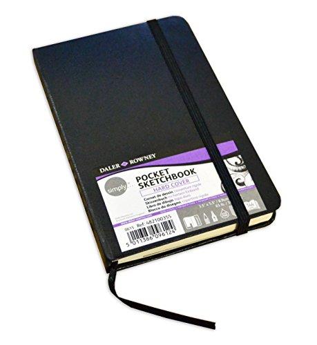 Daler Rowney Simply Pocket Sketchbook (Hard Cover) by Daler Rowney