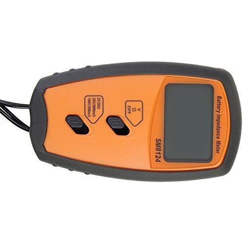 Battery Resistance Meter Battery Resistance Voltmeter Internal Impedance Meter SM8124 High Precision Battery Meter Internal Instrument
