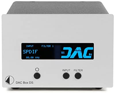 Pro-Ject - DAC Box DS - Digital to Analog Converter - Silver