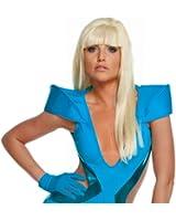 Rubies Lady Gaga Straight Costume Wig with Bangs-