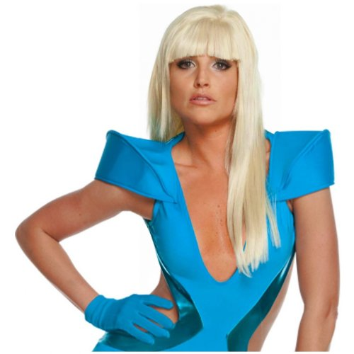 Lady Gaga Wig Costume Accessory