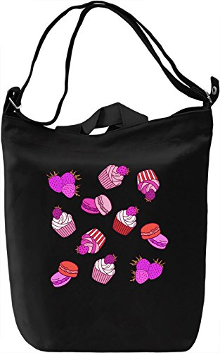 Pink Sweet Desert Borsa Giornaliera Canvas Canvas Day Bag| 100% Premium Cotton Canvas| DTG Printing|