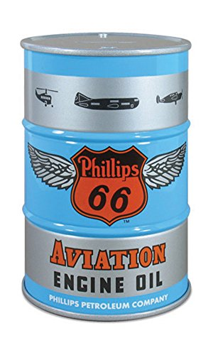 First Gear 1/6 Scale Diecast Collectible Phillips 66 Aviation Oil 55-Gallon Oil Drum Bank (#90-0457)