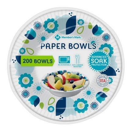 Member's Mark 12 Oz Paper Bowls, 200 Count ()