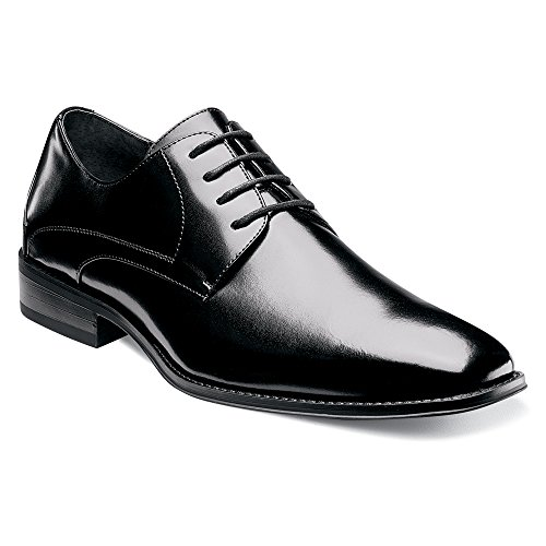 Stacy Adams Menns Wayde Svart Oxford 9,5 Ee - Wide