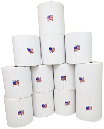 Pitney Bowes Shipping Labels - Preferred Postage Supplies 745-0 Compatible Shipping Labels for Pitney Bowes J644 & J645 Printers, 4 Piece