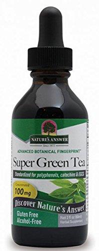 Super Green Tea Extract AF Nature's Answer 2 fl oz Liquid ()