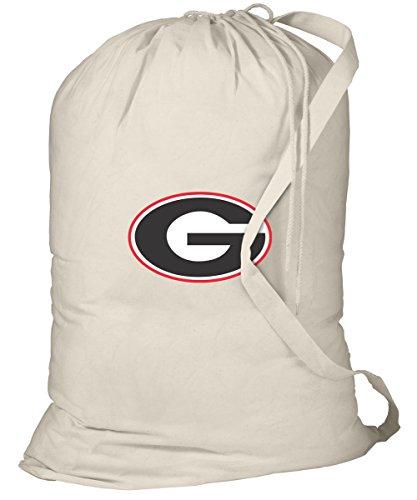 Georgia Bulldogs Laundry Bag University of Georgia Dirty Clothes Bag