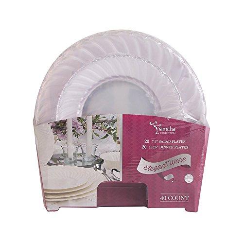 plastic ware clear - 7