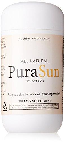 PuraSun All Natural Dietary Supplement, 120 Soft Gels