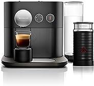 Nespresso Combo Expert Preta, Cafeteira com Aeroccino, 110V