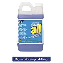 All 5769089 HE Liquid Laundry Detergent, Original Scent, 64 oz. Bottle (Pack of 4)