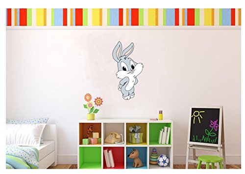 Large Baby Bugs Looney Tunes Wall Decal Kids Room 17