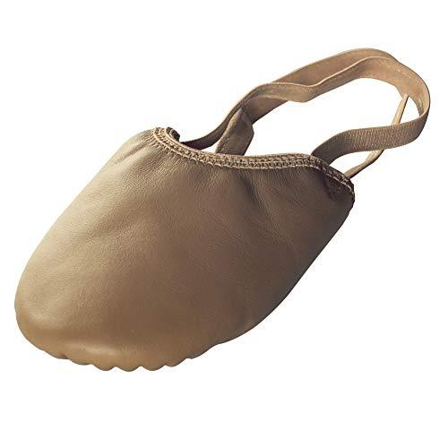 BAYSA Half Sole Ballet Shoe Women Dance Paw Leather Dance Shoe (L(8.5-10)...