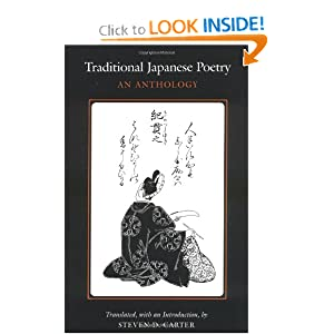 Traditional Japanese Poetry: An Anthology Steven Carter