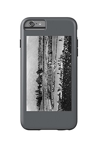Los Angeles, California - The Home Stretch at Santa Anita Track (iPhone 6 Plus Cell Phone Case Cell Phone Case, - Anita Santa Mobile