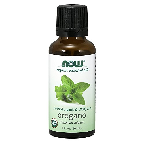 Now Essential Oils, Organic Oregano Oil, Comforting Aromatherapy Scent, Steam Distilled, 100% Pure, Vegan, 1-Ounce