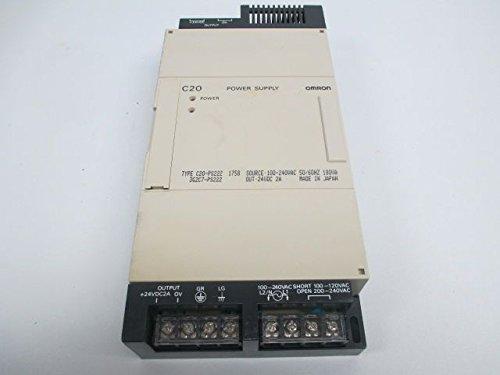 NEW OMRON C20-PS222 POWER SUPPLY 100-240V-AC IN 24V DC OUT 2A D233383 -