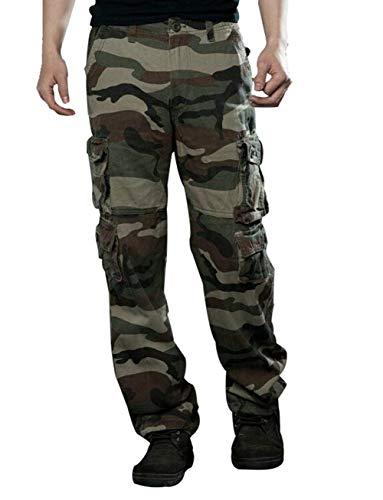 Mimetici Protettivi Cargo Grun Tuta N Casual Moderna Four The Uomo Seasons Lavoro Pantaloni Da lJc3TK1F
