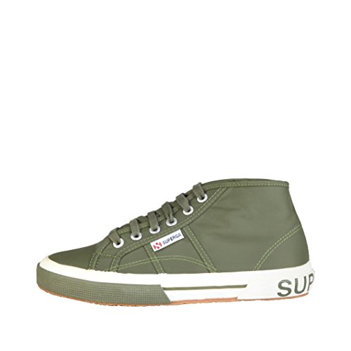 2754 Dark Green Sneakers Superga Donna Olive Pluslnylu Stringate 4pqqwO