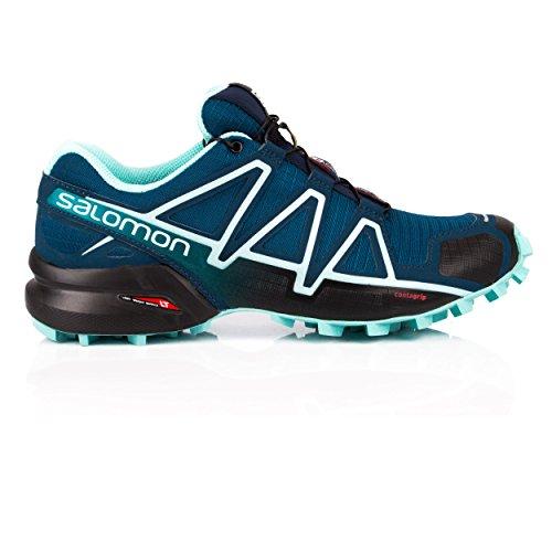 Azul 4 Mujer Salomon Trail Para De Speedcross Calzado Running 875qUHw