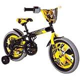 Transformers Boy's 16-Inch Bumble Bee Bike, Black/Yellow/Grey