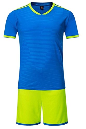FLCH+YIGE Mens Soccer Jersey and Shorts Suit Fan Replica Uniform Soccer 3 - Replica Uniforms Soccer