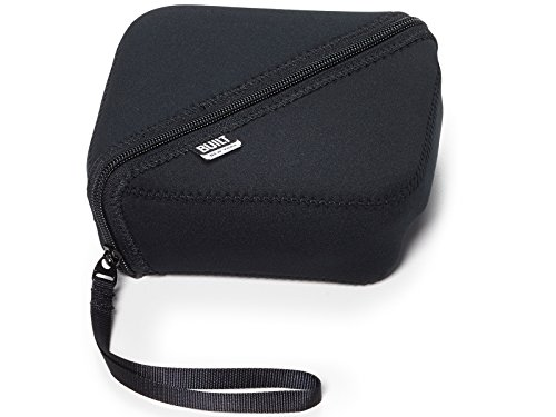 (BUILT NY Bento Sandwich Container with Neoprene Sleeve, Black)