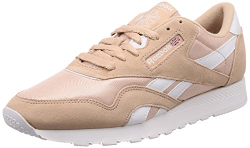 Reebok M 000 White sf Bare Homme Fitness Chaussures Multicolore Beige De Cl Nylon rgE7Sqnwr1