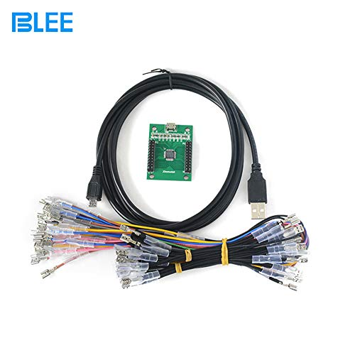 Arcade Game Controller USB Interface PCB Kit for PC (MAME)/PS3 to Mame for 2 Player ()