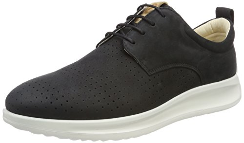 ECCO Mens Aquet Tie Oxford Black