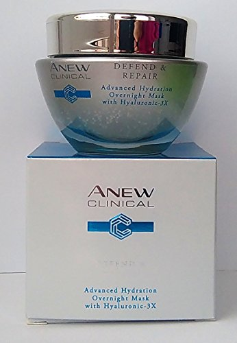 Avon Mask (AVON Anew Clinical Defend & Repair Advanced Hydration Overnight Mask 50ml - 1.7oz)