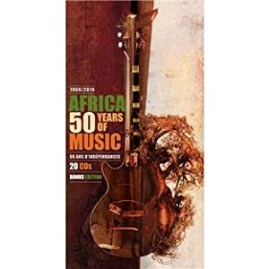 "Afficher ""Africa : 50 years of music (1960-2010)"""