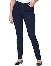 ccba0de0710 Women s Plus Size Tall Tummy-Control Skinny Jeans