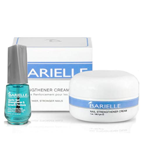 Barielle Nail Strengthener and Garlic Nail Strengthener and Growth Formula 2-Piece Set