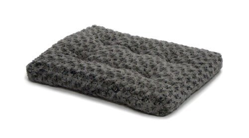 "Midwest Quiet Time Pet Bed Deluxe Gray Ombre Swirl 17"" x 11"""