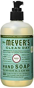 Mrs. Meyer's Clean Day Hand Soap,  Basil - 370ml