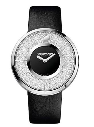 ea197f18865 1135988 Swarovski Crystalline - Black Ladies Watch
