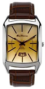 Ben Sherman R784.03BS - Reloj de caballero de cuarzo, correa de piel color marrón