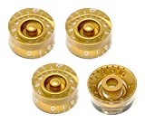 Vintage Forge Gold Speed Knobs for Gibson Les