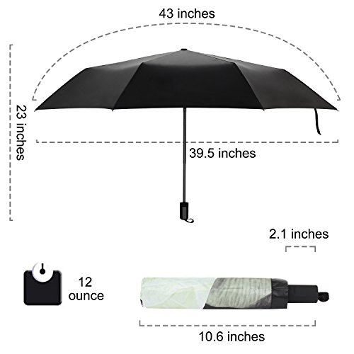 rainlax travel umbrella anti uv protection canopy parasol. Black Bedroom Furniture Sets. Home Design Ideas