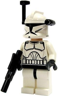 LEGO Star Wars LOOSE Mini Figure EPII Clone Wars Clone Trooper with Blaster [Black Targeter & Light]