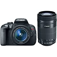 Canon EOS Rebel T5i with 18-55mm STM + 55-250mm STM Lenses