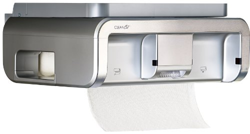 Amazoncom Clean Cut Touchless Paper Towel Dispenser Black - Kitchen paper towel dispenser