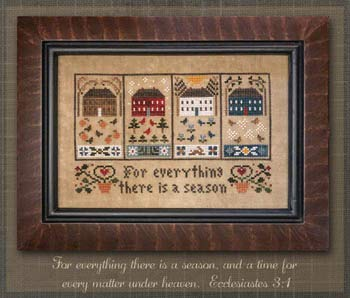 Four Seasons Cross Stitch Chart and Free -