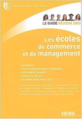 Livres gratuits Les écoles de commerce et de management pdf