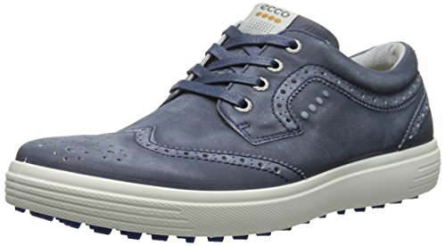 ECCO Men's Casual Hybrid Golf Shoe, Navy, 40 EU/6-6.5 M US