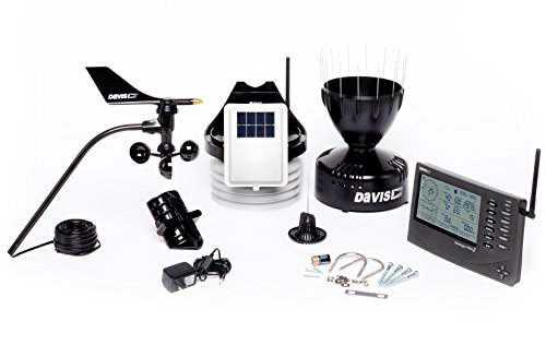 (Davis Instruments 6152 Vantage Pro2 Wireless Weather Station with Standard Radiation Shield and LCD Display Console)