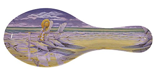 Melamine Spoon Rest Beach Chairs Design 9 1/2 Inches Long ()