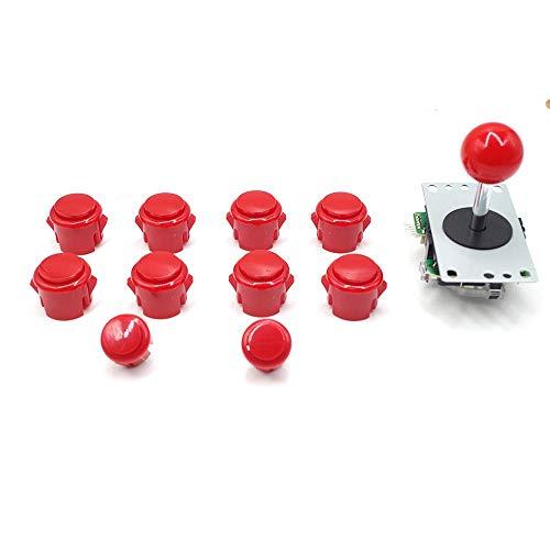Marwey Arcade Buttons and Joystick Kits DIY Controller USB